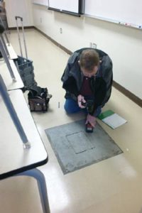 flooring inspection